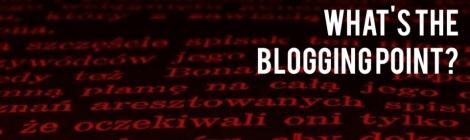 blogging point
