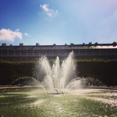 Jardin du Palais Royal fountain