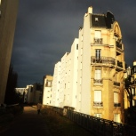Interesting perspective on the Haussmann building facades