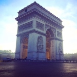 Arc in the daytime