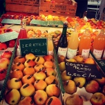 Apple and cider stall