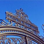 The gates to the gardens