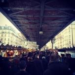 Under the rails on Sunday