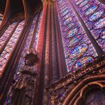 Stained glass windows of the Sainte Chapelle